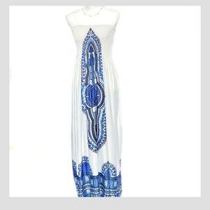 NEW Christina Love Boho Maxi Dress Sz XL
